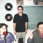 """1996 - FM CIUDAD. En la emisora de Parque Avellaneda, """"Todo El Año Es Carnaval"""", con Gladys Moyano y Coco López."""