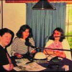 """1994 - FRECUENCIA ESPECIAL. """"La Bocina"""" en la radio de Mataderos, con Gladys Moyano y Cristina Villalba."""