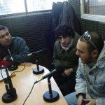 """2009 - Class FM. El grupo de rock """"Rey Jaguar"""" visita """"Todo El Año Es Carnaval"""", entrevistado por Enrique Ricagno."""