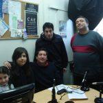 """2009 - Class FM. Hijos y nietos de Serrentino visitan """"Todo El Año Es Carnaval""""."""