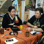 """2015 - FM NOVENTA. La legisladora Karina Spalla (PRO) y la Juntista Diana Patané, visitan """"Popurrí de poco un todo""""."""